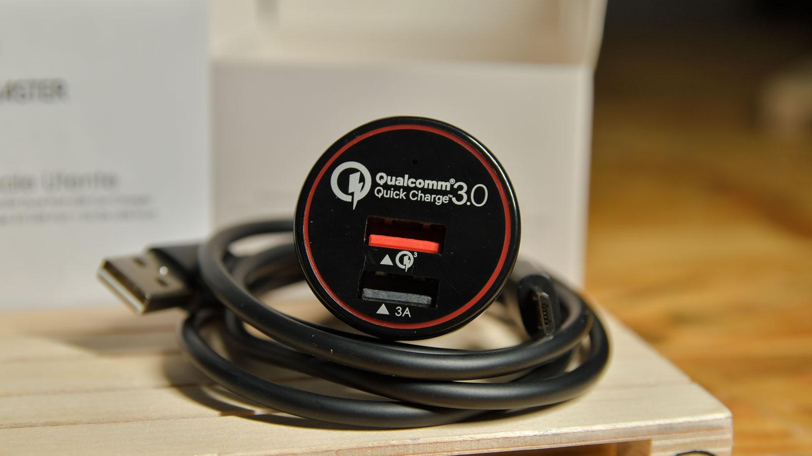 Caricabatterie Auto BC Master con Quick e Fast Charge